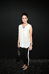 Deana Kabakibi Backstage at Zang Toi Spring 2014 Fashion Show Held During Mercedes Benz Fashion Week NY