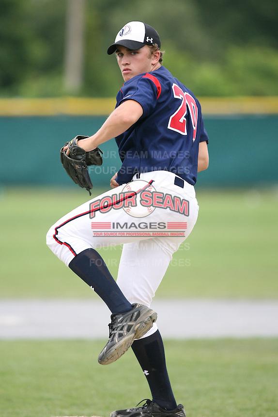 July 27th, 2007:  Danile Marrs during the Cape Cod High School Classic presented by Under Armour at Spillane Field in Wareham, MA.  Photo by:  Mike Janes/Four Seam Images