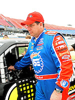 Oct. 30, 2009; Talladega, AL, USA; NASCAR Camping World Truck Series driver Terry Cook during qualifying for the Mountain Dew 250 at the Talladega Superspeedway. Mandatory Credit: Mark J. Rebilas-