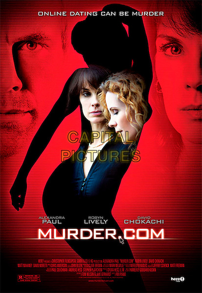 POSTER ART.in Murder.com.(Murder Dot Com).(A Date with Murder).*Filmstill - Editorial Use Only*.CAP/FB.Supplied by Capital Pictures.
