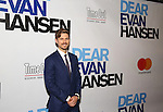 Aaron Tveit attends the Broadway Opening Night Performance of 'Dear Evan Hansen'  at The Music Box Theatre on December 1, 2016 in New York City.