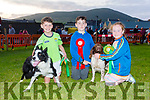 Best in show at the Cahersiveen Dog Show on Friday night went to Conor Sugrue with Fred on the left and Reserve went to Clara O'Sullivan & Daithí Stenson with Alex.