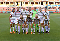 Houston, TX - Wednesday May 09, 2018: Houston Dash vs Portland Thorns at BBVA Compass Stadium.