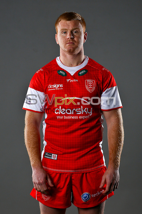 Picture by Alex Whitehead/SWpix.com - 03/02/2014 - Rugby League - 2014 First Utility Super League Launch - Event City, Manchester, England - Hull KR's Kris Keating.