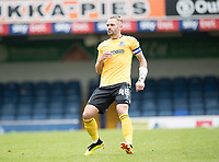 John White, Southend United, during Southend United vs West Ham United Under-21, EFL Trophy Football at Roots Hall on 8th September 2020