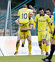 29/01/2011   Copyright  Pic : James Stewart.sct_jsp003_hamilton_v_kilmarnock  .::  CONOR SAMMON CELEBRATES WITH MEHDI TAOUIL AFTER HE  SCORES KILMARNOCK'S FIRST  ::.James Stewart Photography 19 Carronlea Drive, Falkirk. FK2 8DN      Vat Reg No. 607 6932 25.Telephone      : +44 (0)1324 570291 .Mobile              : +44 (0)7721 416997.E-mail  :  jim@jspa.co.uk.If you require further information then contact Jim Stewart on any of the numbers above.........