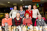 Cahersiveen RCA group enjoying a night at the dogs at the Kingdom Greyhound Stadium on Friday Pictured Front l-r Mary O.Connor, Maureen Griffin, Maureen Murphy,  Bridie Roper. Back l-r Anne Musgrave, Ann O'Sullivan, Annette Fitzpatrick and Betty Kelly