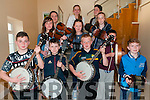 CCE Annual Concert : Pictured at the annual CCE concert held at Ballylongford Community Centre on Friday night last were in front Adam Mahony, Jack Uljee, Conor Hennessey & Breean Cunningham. Middle: Caoimh Moloney, Ciara Hennessey & Joseph Finch. Back : Amy O'Brien, Shauna Walsh, Antoin O'Connor & Aoife O'Brien.