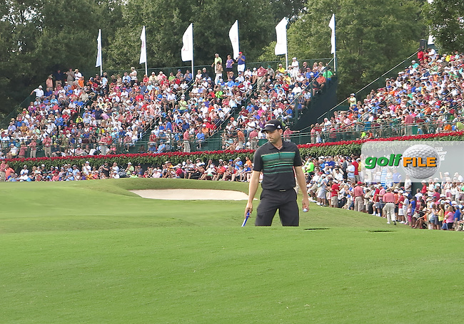 22 SEP 13 Spaniard Sergio Garcia on the 17th green during Sunday's Final Round of The Tour Championship at East Lake Golf Club in Atlanta, Georgia.  (photo:  kenneth e.dennis / kendennisphoto.com)
