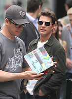 June 12, 2012:  Tom Cruise shooting on location for Oblivion in New York City. &copy; RW/MediaPunch Inc. NORTEPHOTO.COM<br />
