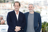 "Vincent Lindon and Stephane Brize at the ""At war (En Guerre)"" photocall during the 71st Cannes Film Festival at the Palais des Festivals on May 16, 2018 in Cannes, France. Credit: John Rasimus / Media Punch ***FRANCE, SWEDEN, NORWAY, DENARK, FINLAND, USA, CZECH REPUBLIC, SOUTH AMERICA ONLY***"