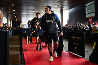 Anthony Perenise and the rest of the Bath Rugby team arrive at the Stade Ernest Wallon. Heineken Champions Cup match, between Stade Toulousain and Bath Rugby on January 20, 2019 at the Stade Ernest Wallon in Toulouse, France. Photo by: Patrick Khachfe / Onside Images