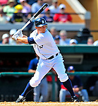 5 March 2009: Detroit Tigers' third baseman Brandon Inge in action during a Spring Training game against the Washington Nationals at Joker Marchant Stadium in Lakeland, Florida. The Tigers defeated the visiting Nationals 10-2 in the Grapefruit League matchup. Mandatory Photo Credit: Ed Wolfstein Photo