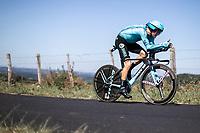 Jakob Fuglsang (DEN/Astana)<br /> <br /> Stage 13: ITT - Pau to Pau (27.2km)<br /> 106th Tour de France 2019 (2.UWT)<br /> <br /> ©kramon