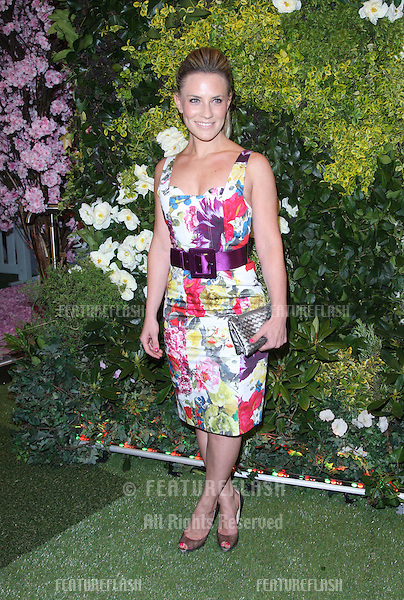 Georgie Thompson at the John Lewis Beauty Hall launch party - Arrivals.London. 08/05/2012 Picture by: Henry Harris / Featureflash