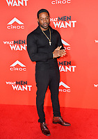 LOS ANGELES, CA. January 28, 2019: Darrin Henson at the US premiere of &quot;What Men Want!&quot; at the Regency Village Theatre, Westwood.<br /> Picture: Paul Smith/Featureflash