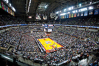 INDIANAPOLIS, IN - APRIL 3, 2011: NCAA Final Four against Texas A&M at Conseco Fieldhouse  in Indianapolis, IN on April 1, 2011.