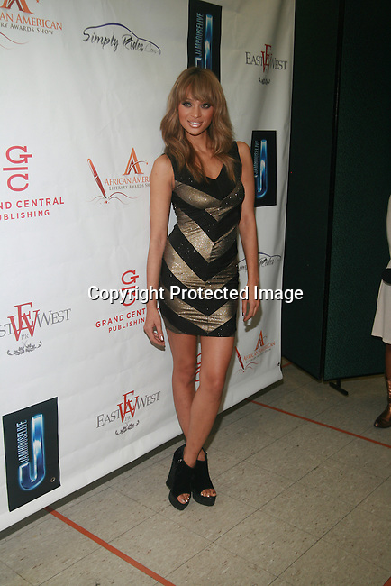 ANTM's Nik Pace Attends the 7th Annual African American Literary Awards Held at Melba's Restaurant, NY 9/22/11