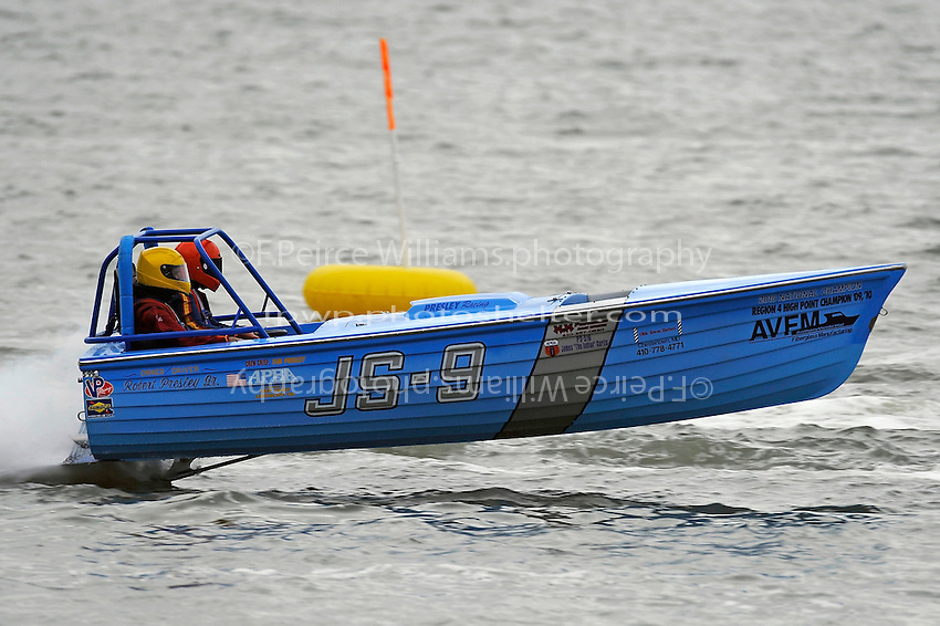 Robert Presley, Jr., JS-9   (Jersey Speed Skiff(s)
