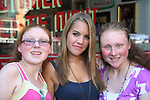 One Life To Live's Kristen Alderson poses with fans Jennifer and Caitlin at her annual Fan Gathering on August 16, 2009 at Big Daddy's Diner, New York City, New York. Great time. (Photo by Sue Coflin/Max Photos)