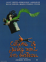 Celine and Julie Go Boating (1974) <br /> Poster art<br /> C&eacute;line et Julie vont en bateau (1974)<br /> *Filmstill - Editorial Use Only*<br /> CAP/PLF<br /> Supplied by Capital Pictures