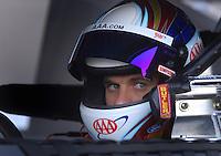 Apr 19, 2007; Avondale, AZ, USA; Nascar Nextel Cup Series driver David Ragan (6) during qualifying for the Subway Fresh Fit 500 at Phoenix International Raceway. Mandatory Credit: Mark J. Rebilas