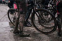 post-finish<br /> <br /> Women's Race<br /> CX Vlaamse Druivencross Overijse 2017