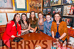 Angela Manning (Ventry), Marian Griffin (Dingle), Nicola Manning, Orla Russell, Shauna Russell - Noonan and Eileen Manning (Ventry) enjoying the Paidí Ó Sé Football Tournament after match at Paidi's Pub on Sunday evening.