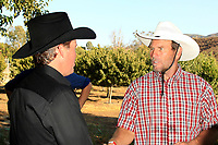 LOS ANGELES - AUG 27: Clay Walker, Ken Smith at the Clay Walker Country at the Downs concert  at Galway Downs on August 27, 2017 in Temecula, California