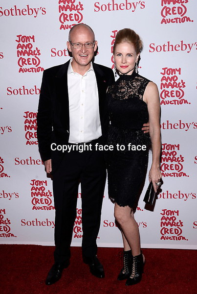 EW YORK, NY - NOVEMBER 23,2013: Charles Gibb and Tamara Gibb pictured at Jony And Marc's (RED) Auction at Sotheby's on November 23, 2013 in New York City<br /> Credit: MediaPunch/face to face<br /> - Germany, Austria, Switzerland, Eastern Europe, Australia, UK, USA, Taiwan, Singapore, China, Malaysia, Thailand, Sweden, Estonia, Latvia and Lithuania rights only -