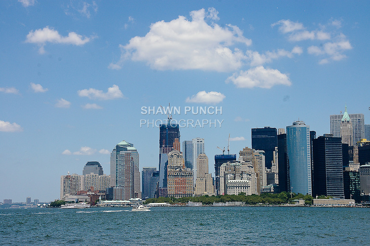 View of Lower Manhattan during my Governors Island bike ride on July 17, 2011. http://tinyurl.com/4342uth