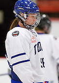 Kelly Zamora (Toronto - 96) - The Boston Blades defeated the visiting Toronto Hockey Club 4-2 on Sunday, February 6, 2011, at Bright Hockey Center in Cambridge, Massachusetts.