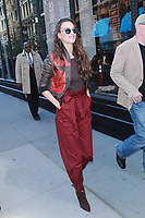 NEW YORK, NY - APRIL 18: Charlotte le Bon seen on April 18, 2017 in New York City. <br /> CAP/MPI/DIE<br /> &copy;DIE/MPI/Capital Pictures