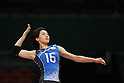 Saori Sakoda (JPN),<br /> AUGUST 6, 2016 - Volleyball : <br /> Women's Preliminary Pool A<br /> between Japan 1-3 South Korea<br /> at Maracanazinho <br /> during the Rio 2016 Olympic Games in Rio de Janeiro, Brazil. <br /> (Photo by Koji Aoki/AFLO SPORT)