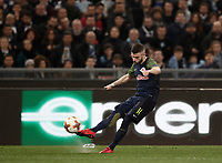 Europa League quarter-final 1st leg <br /> S.S. Lazio - FC Salzburg  Olympic Stadium Rome, April 5, 2018.<br /> Salzburg's Valon Berisha in action during the Europa League match between Lazio and Salzburg at Rome's Olympic stadium, April 5, 2018.<br /> UPDATE IMAGES PRESS/Isabella Bonotto