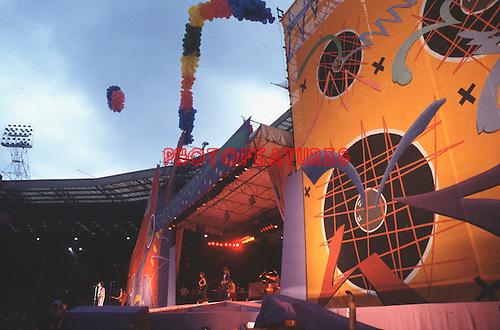 Rolling Stones 1982 Wembley Stadium..