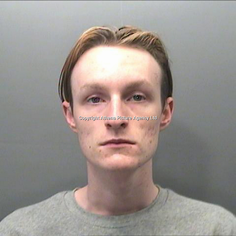 Pictured: South Wales Police custody picture of Richard Punchard <br /> Re: A man who planted a fake bomb in a busy shopping centre deliberately chose to do it just two days after the suicide attack in Manchester in order to attract as much attention as possible, a court has heard.<br /> Richard Punchard put the hoax device under a bench in the middle of Swansea's Quadrant centre on May 24 this year, at a time of heightened terrorist threat and public concern about security.<br /> He was later tackled by a member of the public who saw him being chased by police officers and took him to the ground.<br /> Punchard, aged 21, of Ozanam Court, Portmead, Swansea, pleaded guilty to placing an imitation explosive device with intent when he appeared at Swansea Crown Court.<br /> Brian Simpson, prosecuting, said on the morning of May 24 Punchard made a device - fashioned from a wooden jewellery box, wires from old computer games consoles, and tape - before taking the bus into town.<br /> He then made his way into the Quadrant Shopping Centre and sat on a bench near Debenhams before removing the device from the rucksack he was carrying and placing it under his seat.