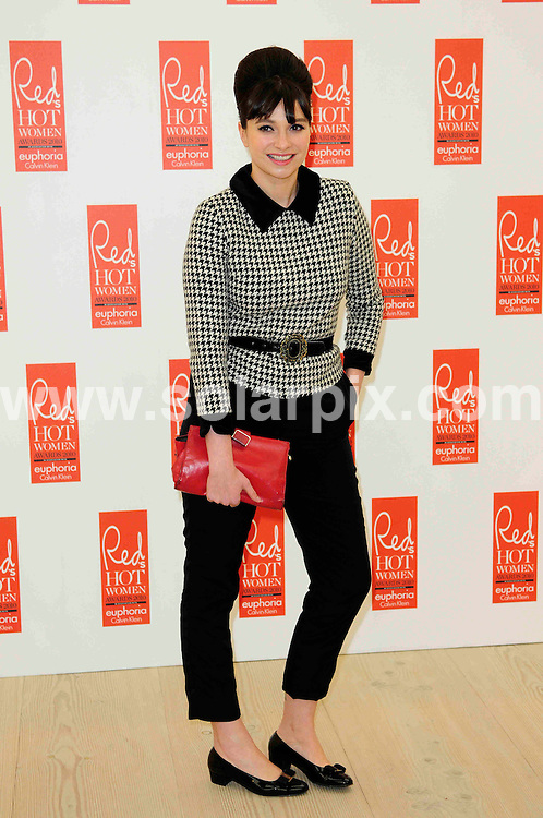 **ALL ROUND PICTURES FROM SOLARPIX.COM**                                             **WORLDWIDE SYNDICATION RIGHTS**                                                                                  Caption:  Arrivals at the Red Hot Women Awards.The Saatchi Gallery, Duke Of York's HQ, London .UK. 30 November 2010.                                                                             This pic: Gizzi Erskine                                                                                   JOB REF: 12542 MSR       DATE: 30_11_2010                                                           **MUST CREDIT SOLARPIX.COM OR DOUBLE FEE WILL BE CHARGED**                                                                      **MUST AGREE FEE BEFORE ONLINE USAGE**                               **CALL US ON: +34 952 811 768 or LOW RATE FROM UK 0844 617 7637**