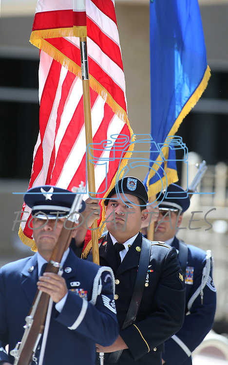 Images from the 2016 Flag Day &amp; Army Birthday ceremony at the Capitol in Carson City, Nev., on Tuesday, June 14, 2016.<br />