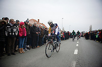 Gent-Wevelgem 2013.Jürgen Roelandts (BEL) at the alternative start in Gistel