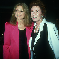 Gloria Steinem, Polly Bergen, 1988, Photo By Michael Ferguson/PHOTOlink