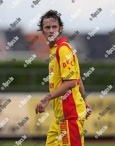 2007-08-15 / Voetbal / KFC Duffel / Dieter Van den Broeck