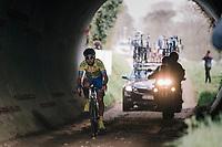 Rob Ruijgh (NED/Tarteletto-Isorex) exiting the tunnel<br /> <br /> 35th Tro Bro Leon 2018<br /> 1 Day Race: Le Carpont - Lannilis (FRA/203km)
