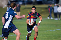 Action from the secondary schools Super 8 match between Rotorua Boys' High School and Tauranga Boys' College at Rotorua BHS in Rotorua, New Zealand on Thursday, 6 June 2019. Photo: Dave Lintott / lintottphoto.co.nz