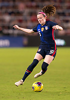5th March 2020, Orlando, Florida, USA;  the United States midfielder Rose Lavelle (16) during the Women's SheBelieves Cup soccer match between the USA and England on March 5, 2020 at Exploria Stadium in Orlando, FL.