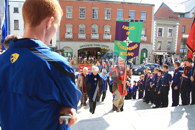 St. Oliver Plunkett Relic Procession 2011 on West Street..Picture: Shane Maguire / www.newsfile.ie.