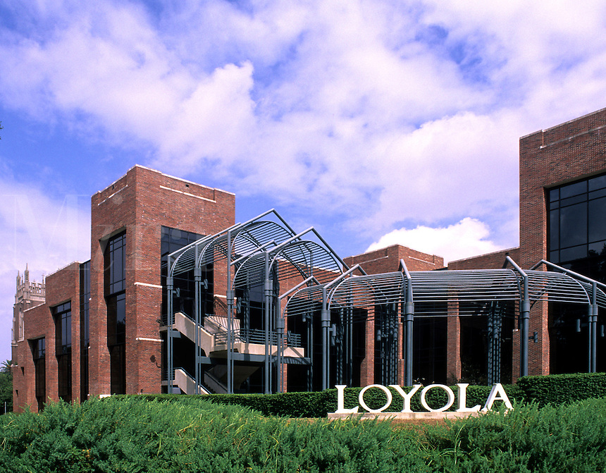 Loyola University in the Garden District, city of New Orleans, Louisiana, NOLA USA