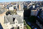 20080110 - France - Aquitaine - Pau<br /> VUES DEPUIS LE CHATEAU DE PAU SUR LA VILLE, LE GAVE ET LES PYRENEES.<br /> Ref : PAU_050.jpg - © Philippe Noisette.