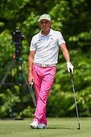 Rickie Fowler (USA) waits to tee off on 8 during round 2 of the 2019 Charles Schwab Challenge, Colonial Country Club, Ft. Worth, Texas,  USA. 5/24/2019.<br /> Picture: Golffile   Ken Murray<br /> <br /> All photo usage must carry mandatory copyright credit (© Golffile   Ken Murray)