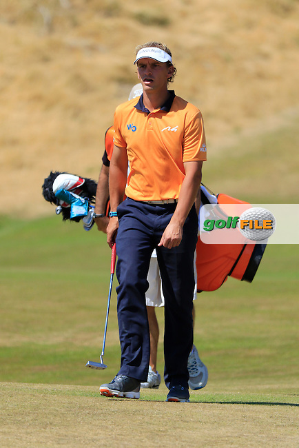 Joost LUITEN (NED) walks onto the 6th green during Sunday's Final Round of the 2015 U.S. Open 115th National Championship held at Chambers Bay, Seattle, Washington, USA. 6/21/2015.<br /> Picture: Golffile | Eoin Clarke<br /> <br /> <br /> <br /> <br /> All photo usage must carry mandatory copyright credit (&copy; Golffile | Eoin Clarke)